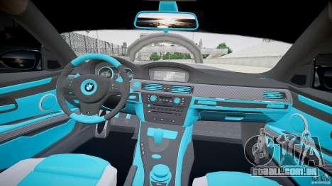 BMW E92 para GTA 4 vista de volta