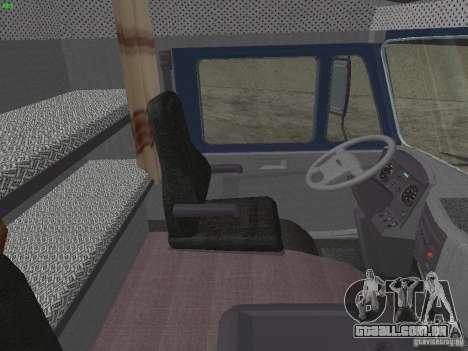 KAMAZ 5460 Sport para GTA San Andreas vista traseira