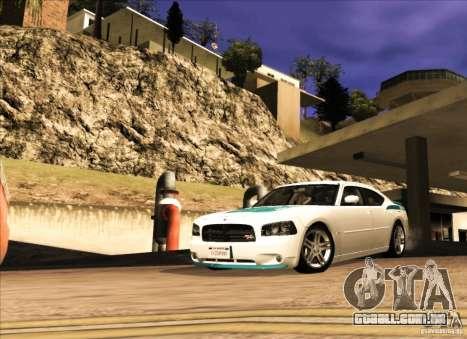 Dodge Charger R/T Daytona para GTA San Andreas esquerda vista