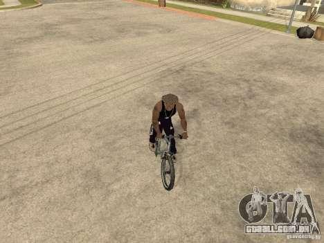 Ocultar-traz as armas no carro para GTA San Andreas sexta tela