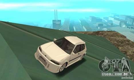 Honda Civic SiR II Tuning para GTA San Andreas