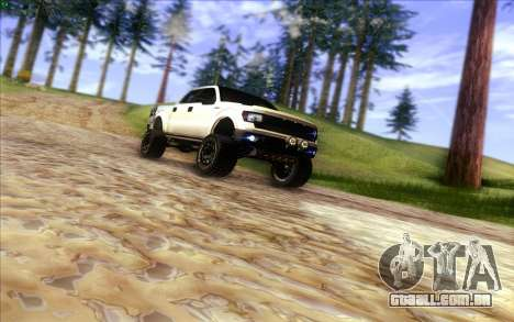 Ford F-150 Carryer Metal Mulisha para vista lateral GTA San Andreas