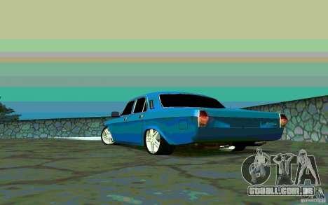 GÁS 24 v 1.0 para GTA San Andreas traseira esquerda vista