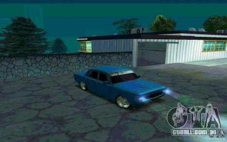 GÁS 24 v 1.0 para GTA San Andreas esquerda vista
