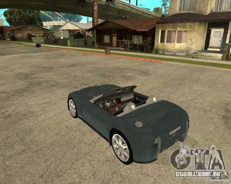 Ford Cobra Concept para GTA San Andreas esquerda vista