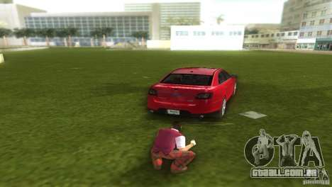 Ford Taurus para GTA Vice City deixou vista