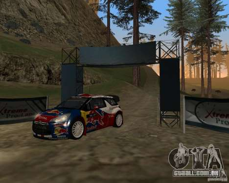 Citroen DS3 WRC para GTA San Andreas esquerda vista