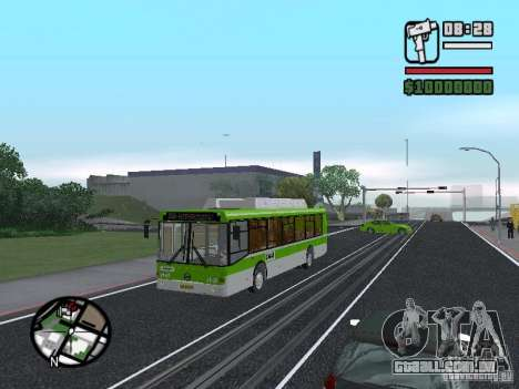 LIAZ 5292.70 para GTA San Andreas