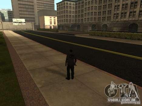 Novas estradas em Los Santos para GTA San Andreas por diante tela