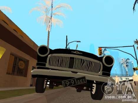 Volga 21 para GTA San Andreas vista traseira