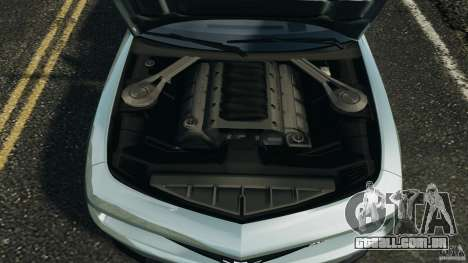 Chevrolet Camaro ZL1 2012 v1.2 para GTA 4 vista superior