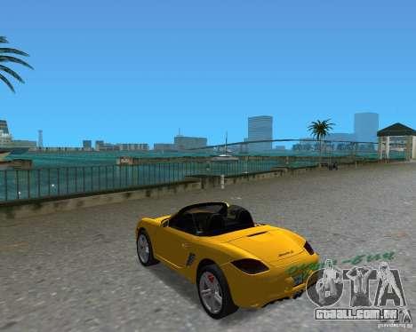 Porsche Boxster 2010 para GTA Vice City vista direita