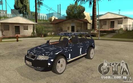 Audi Allroad Quattro para GTA San Andreas