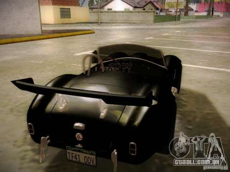 Shelby Cobra 427 para GTA San Andreas interior