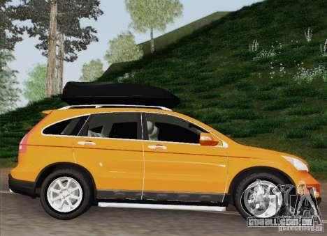 Honda CRV 2011 para GTA San Andreas traseira esquerda vista