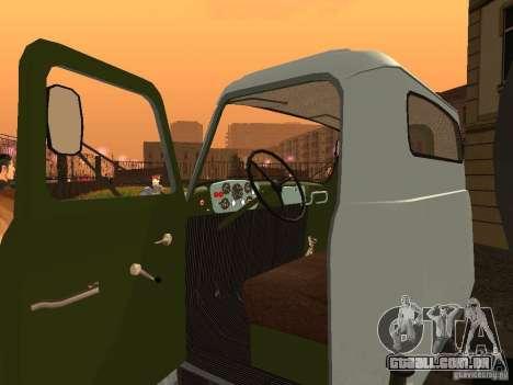 GAZ 53 Flusher para GTA San Andreas vista traseira