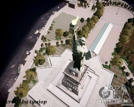 New Statue of Liberty para GTA 4 quinto tela