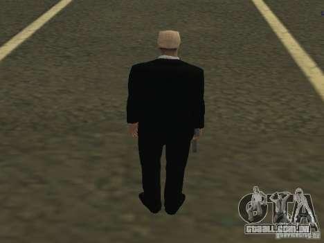 Os guarda-costas para GTA San Andreas segunda tela