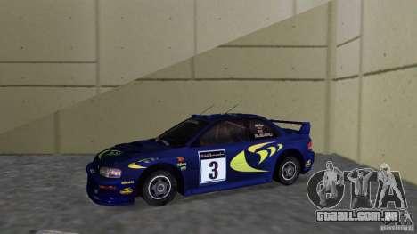 Subaru Impreza 22B Rally Edition para GTA Vice City