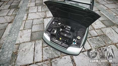 Honda CRX 1991 para GTA 4 vista de volta