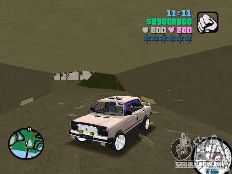 VAZ 2107 para GTA Vice City