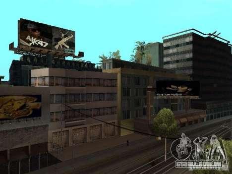 Rep trimestre v1 para GTA San Andreas sexta tela