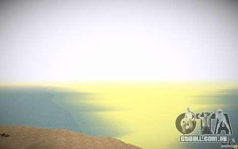 Água HD v 3.0 para GTA San Andreas twelth tela