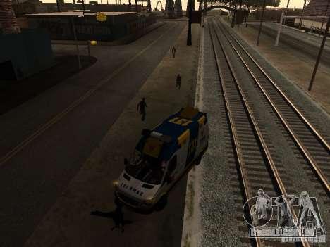 Mercedes-Benz Sprinter Ambulancia para GTA San Andreas esquerda vista