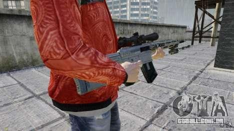 RSASS de MW3 (sniper) para GTA 4 terceira tela
