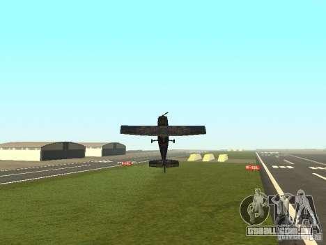 Um novo avião-Dodo para GTA San Andreas interior