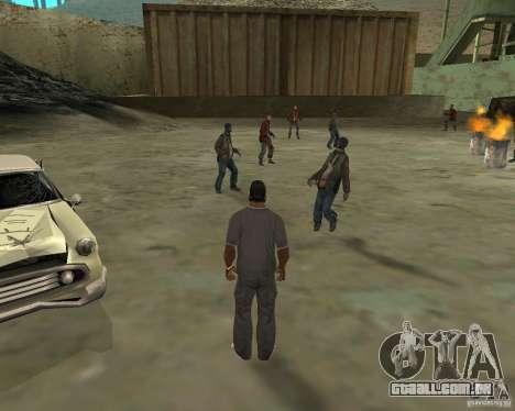 Barney sem-teto para GTA San Andreas segunda tela
