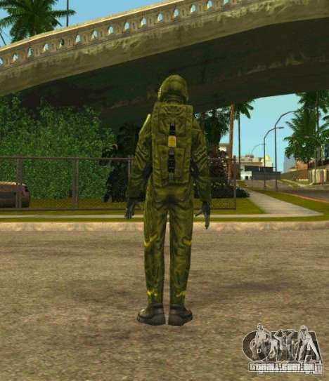 Peles de STALKER para GTA San Andreas terceira tela