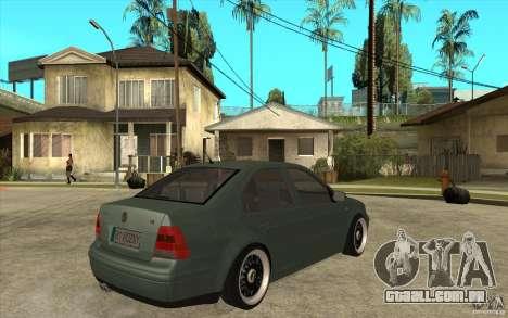 VW Bora para GTA San Andreas vista direita