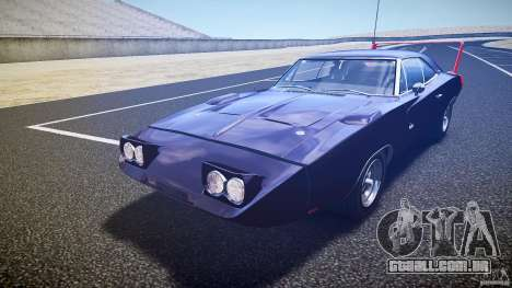 Dodge Charger Daytona 1969 [EPM] para GTA 4 interior