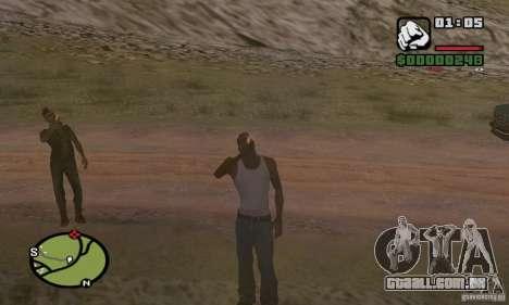 Relaxamento no vale para GTA San Andreas terceira tela