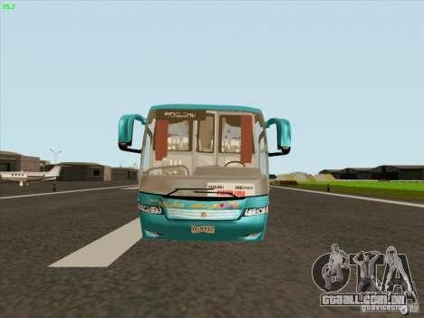 Mercedes-Benz Vissta Buss LO para GTA San Andreas traseira esquerda vista