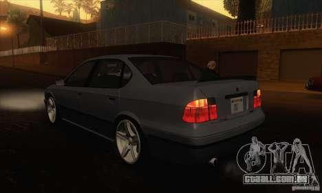 GTA IV Merit para GTA San Andreas traseira esquerda vista