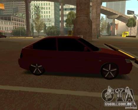 LADA 2112 Coupe, v. 2 para GTA San Andreas esquerda vista