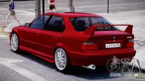 BMW 318i Light Tuning v1.1 para GTA 4 vista direita
