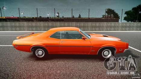 Mercury Cyclone Spoiler 1970 para GTA 4 esquerda vista