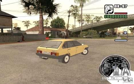 VAZ 21093i para GTA San Andreas vista direita