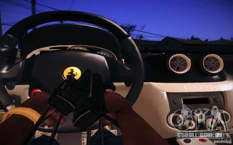 Ferrari 599 GTB Fiorano 2010 para GTA San Andreas vista interior