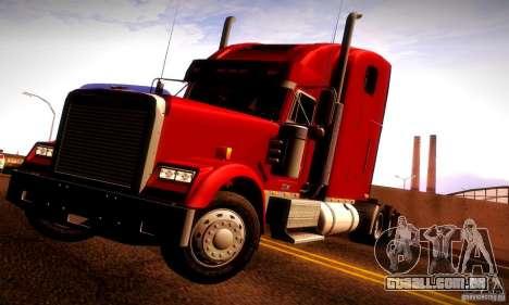 Freightliner Classic XL para GTA San Andreas interior