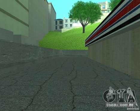 Novo Xoomer. posto de gasolina novo. para GTA San Andreas por diante tela