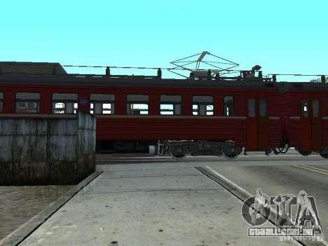 Er9m-576 para GTA San Andreas traseira esquerda vista