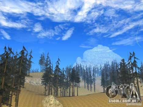 BM Timecyc v1.1 Real Sky para GTA San Andreas quinto tela