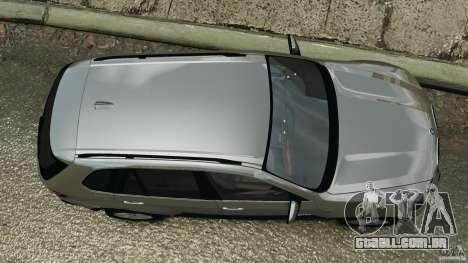 BMW X5 xDrive35d para GTA 4 vista direita