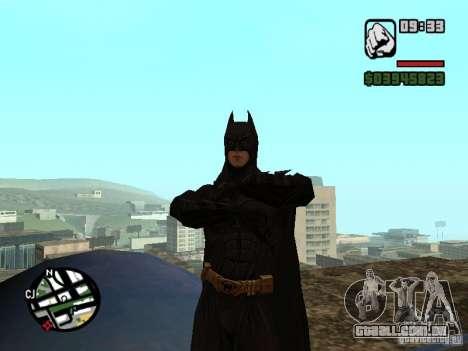 Batman para GTA San Andreas terceira tela