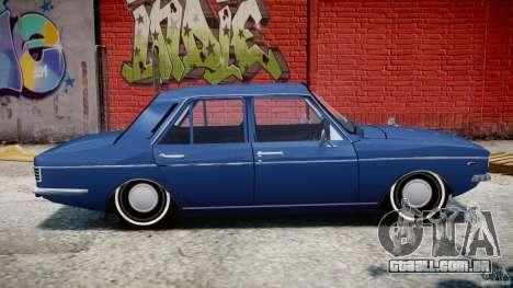 Peykan 1348 1970 para GTA 4 traseira esquerda vista