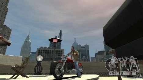 The Lost and Damned Bikes Lycan para GTA 4 esquerda vista